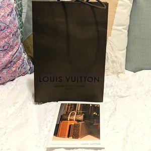 Louis Vuitton Bag & Receipt Folder